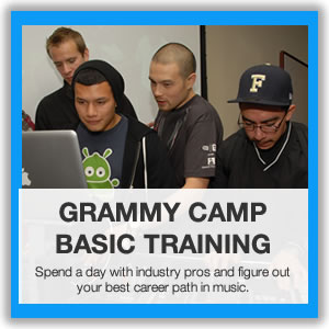 GRAMMY Camp Basic Training