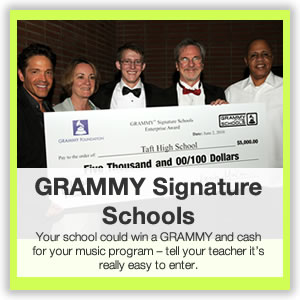 GRAMMY Camp Signature Schools